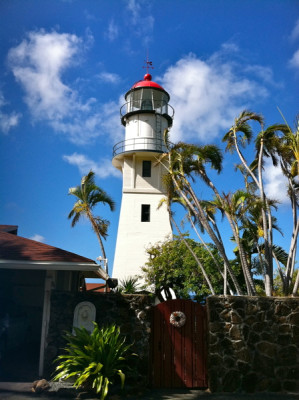 Stillwell,Diamond Head Light, Hawaii