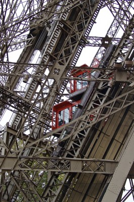 Stillwell_Paris_Red_Elevators_Eiffel_Tower